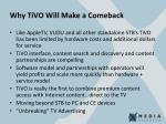 why tivo will make a comeback