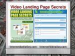 video landing page secrets56