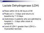 lactate dehydrogenase ldh