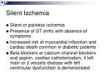 silent ischemia57