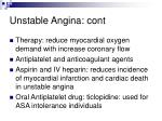 unstable angina cont55