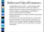 hollywood video ecommerce