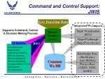command and control support jwis