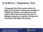 25 981 c regulatory text