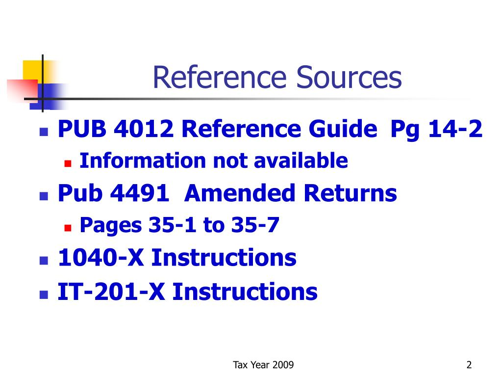 Reference Sources