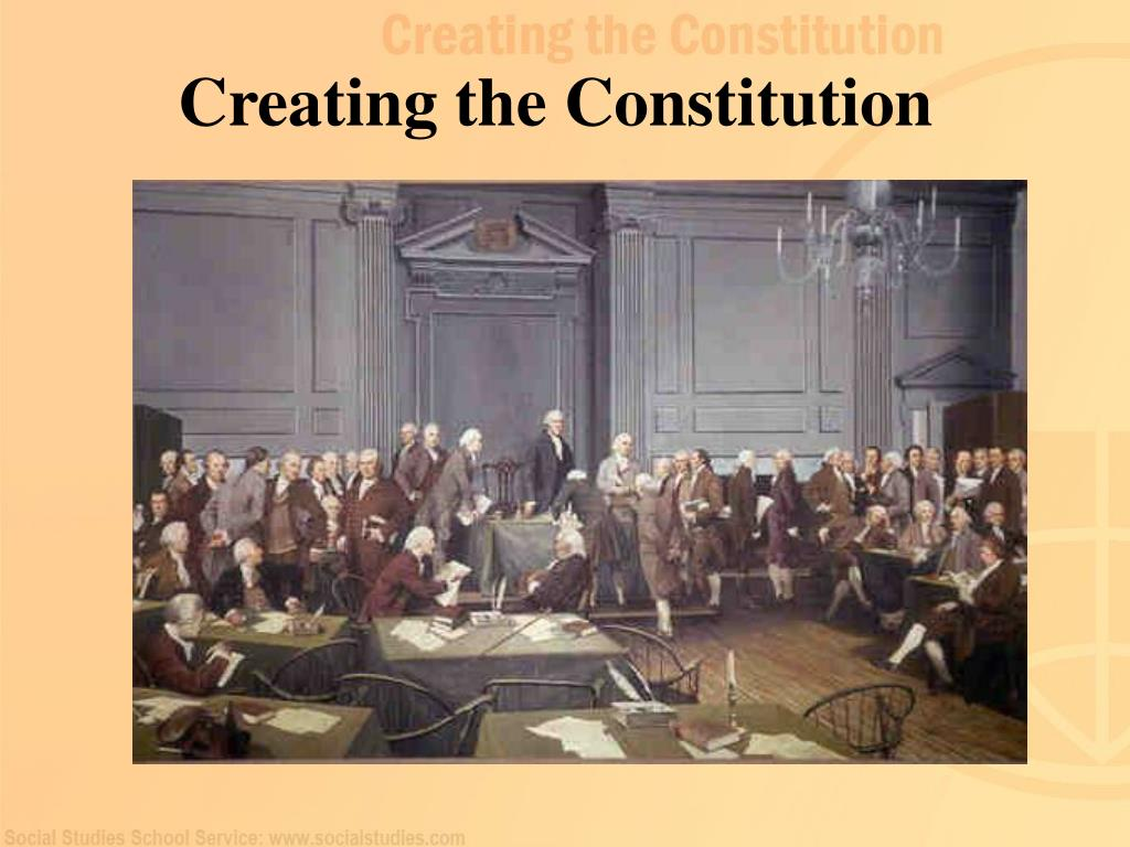creating the constitution l.