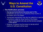 ways to amend the u s constitution8