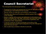 council secretariat20