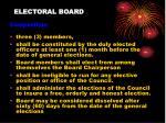electoral board