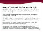 blogs the good the bad and the ugly61