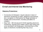 e mail and internet use monitoring46