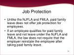 job protection