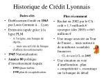 historique de cr dit lyonnais