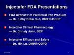 injectafer fda presentations
