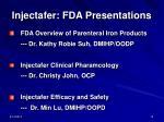 injectafer fda presentations10