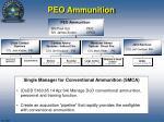 peo ammunition