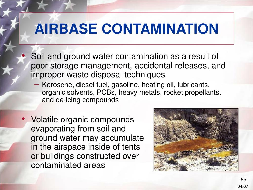 AIRBASE CONTAMINATION
