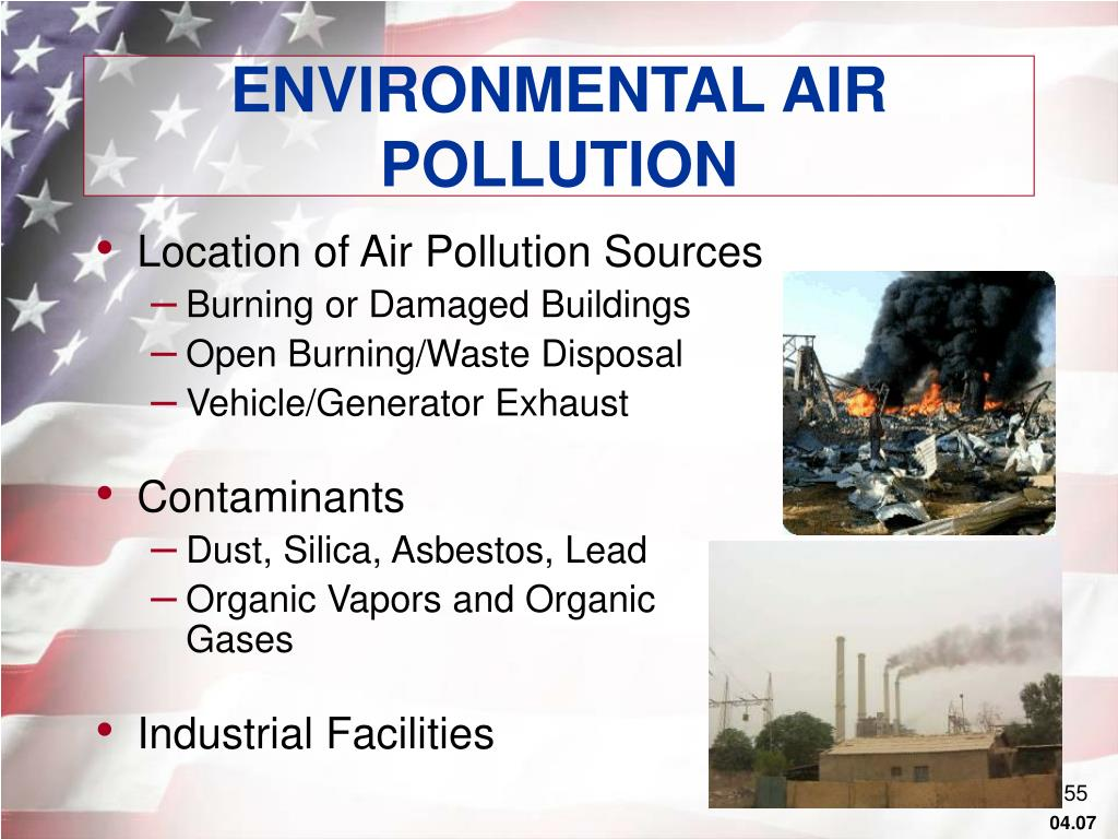 ENVIRONMENTAL AIR POLLUTION