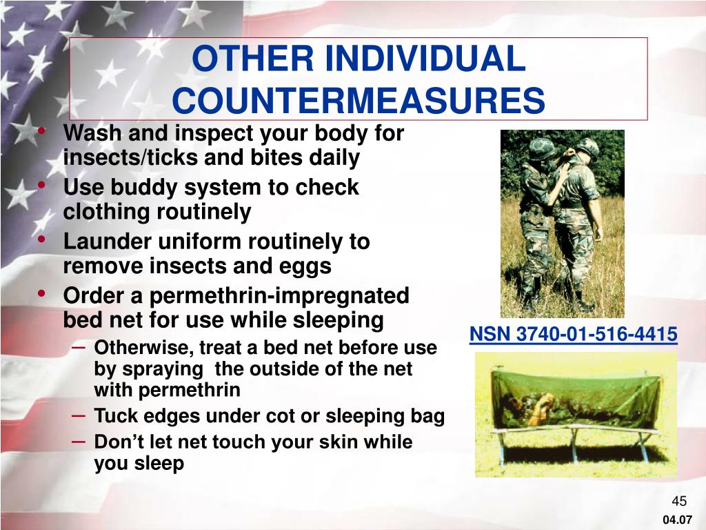 OTHER INDIVIDUAL COUNTERMEASURES