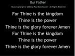 our father music copyright 2002 by paul marxhausen all rights reserved6