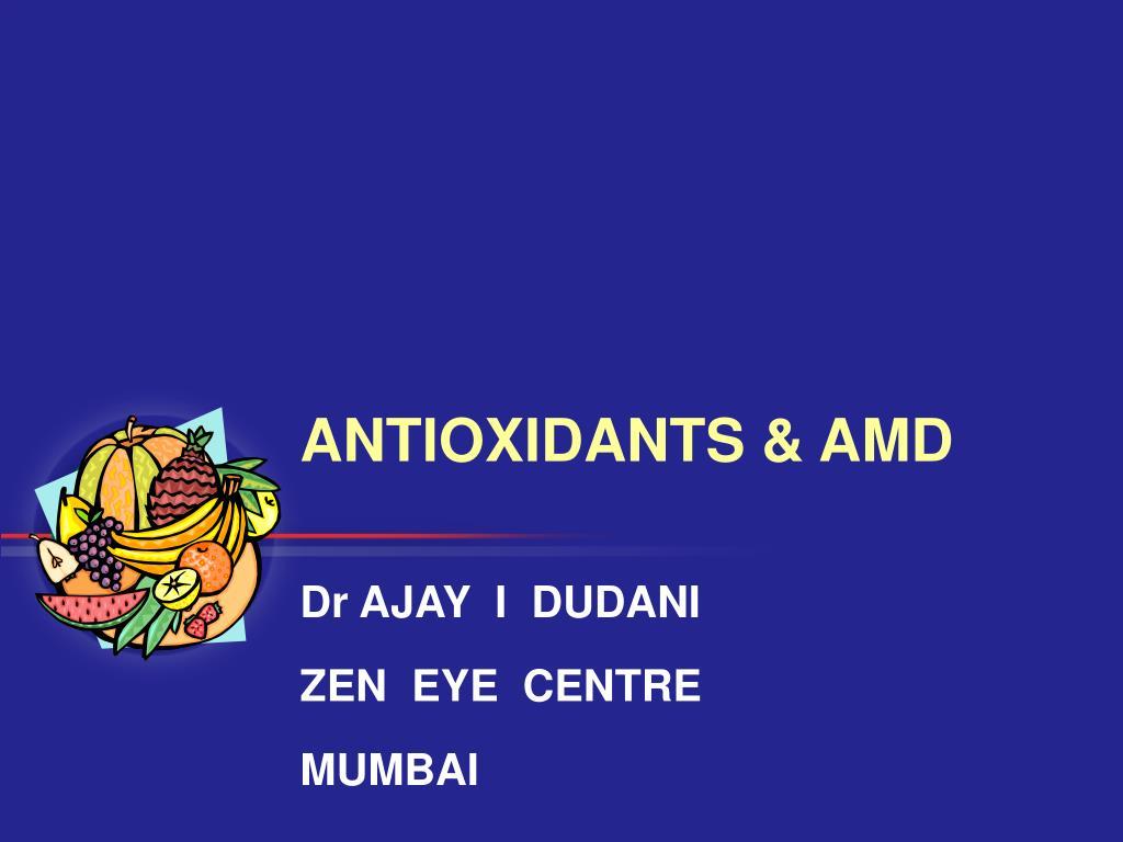 antioxidants amd l.