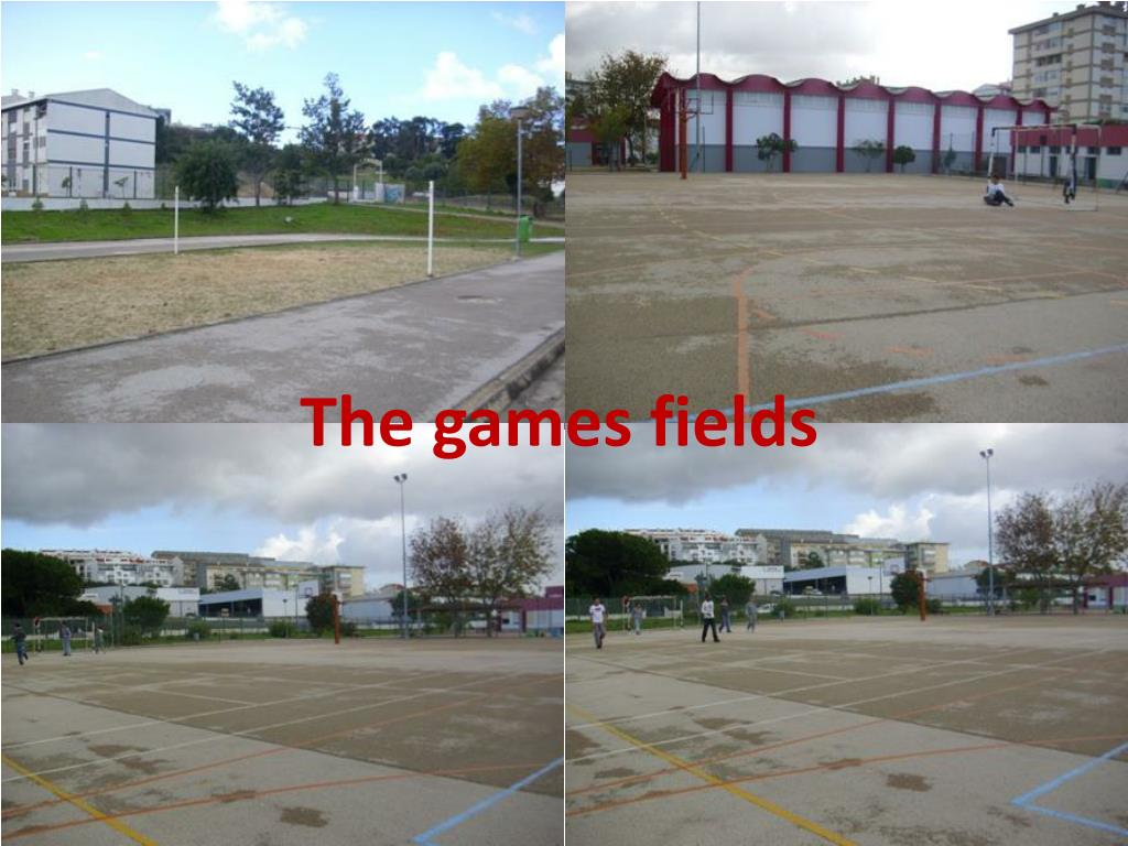 The games fields