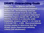 draft overarching goals20