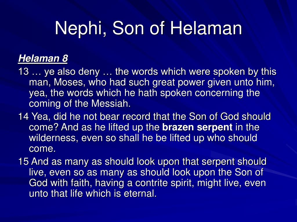 Nephi, Son of Helaman