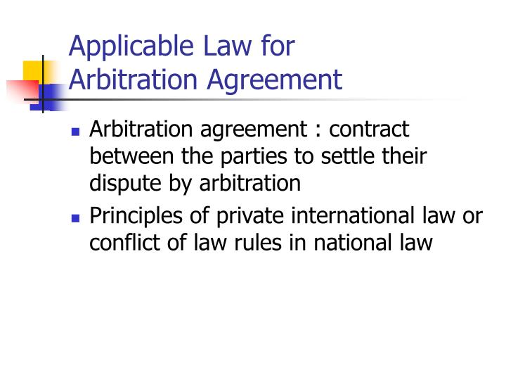 fundamental principle of arbitration essay More essay examples on business rubric the doctrine of kompetenz-kompetenz in international commercial arbitration  introduction international arbitration has been used to resolve disputes for a long time - the doctrine of kompetenz-kompetenz in international commercial arbitration essay introduction.