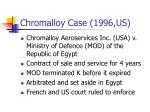chromalloy case 1996 us