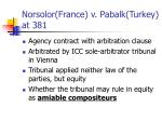 norsolor france v pabalk turkey at 381