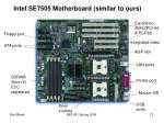 intel se7505 motherboard similar to ours
