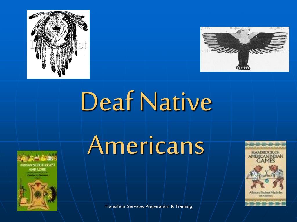 deaf native americans l.