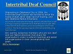intertribal deaf council