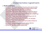 implementation agreements