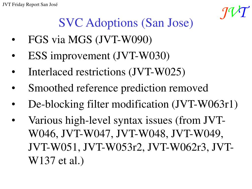 SVC Adoptions (San Jose)