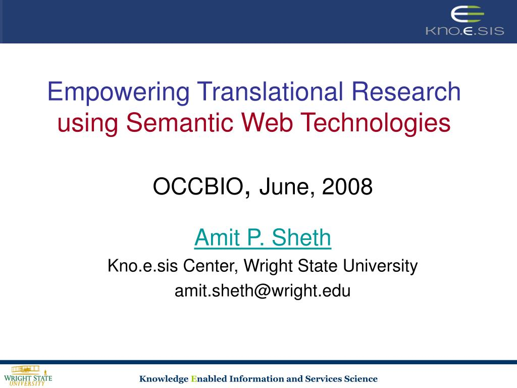 Empowering Translational Research