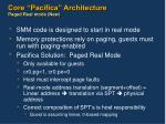 core pacifica architecture paged real mode new