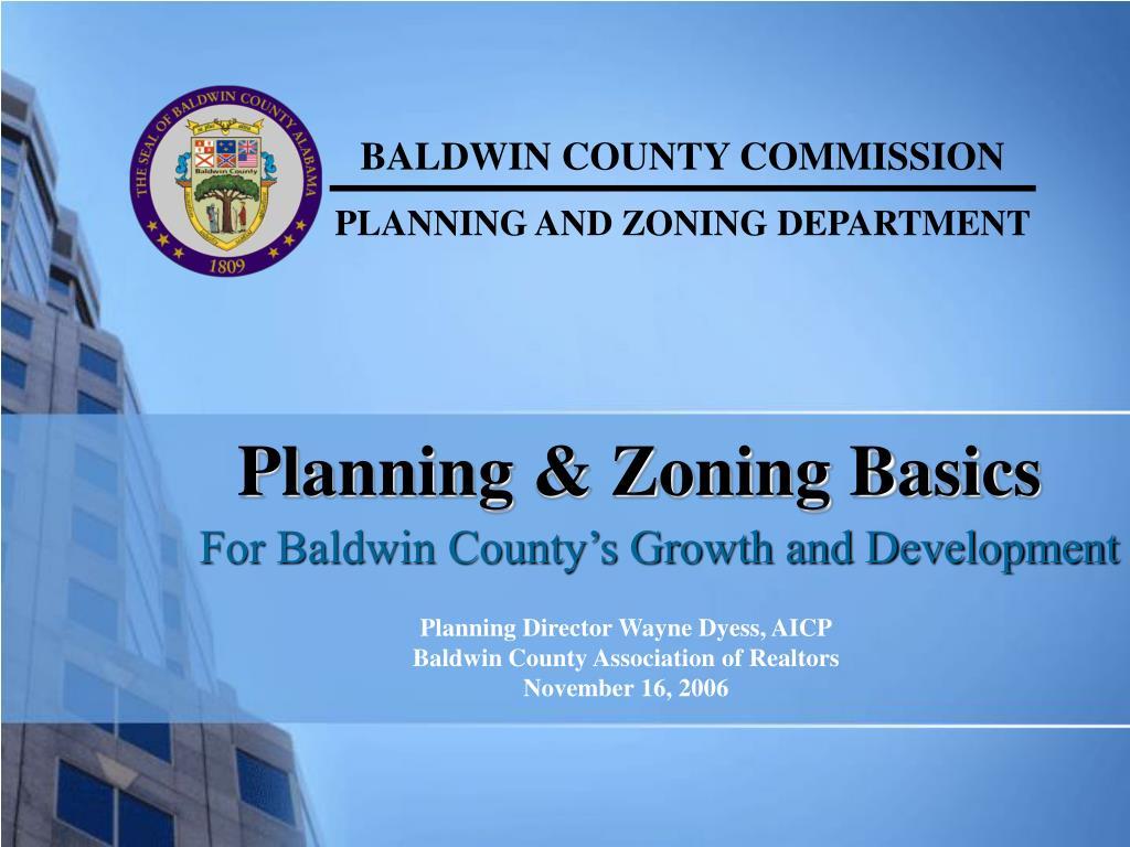 planning zoning basics l.