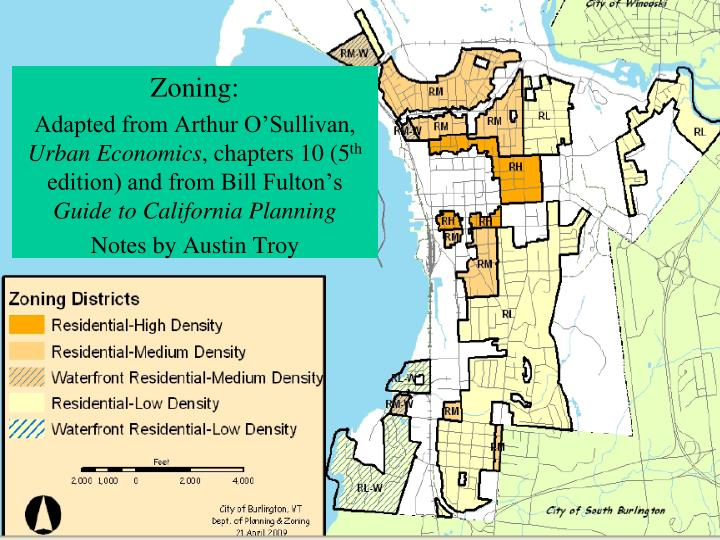 Land use planning tools lecture 3 economics of zoning