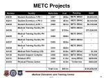 metc projects