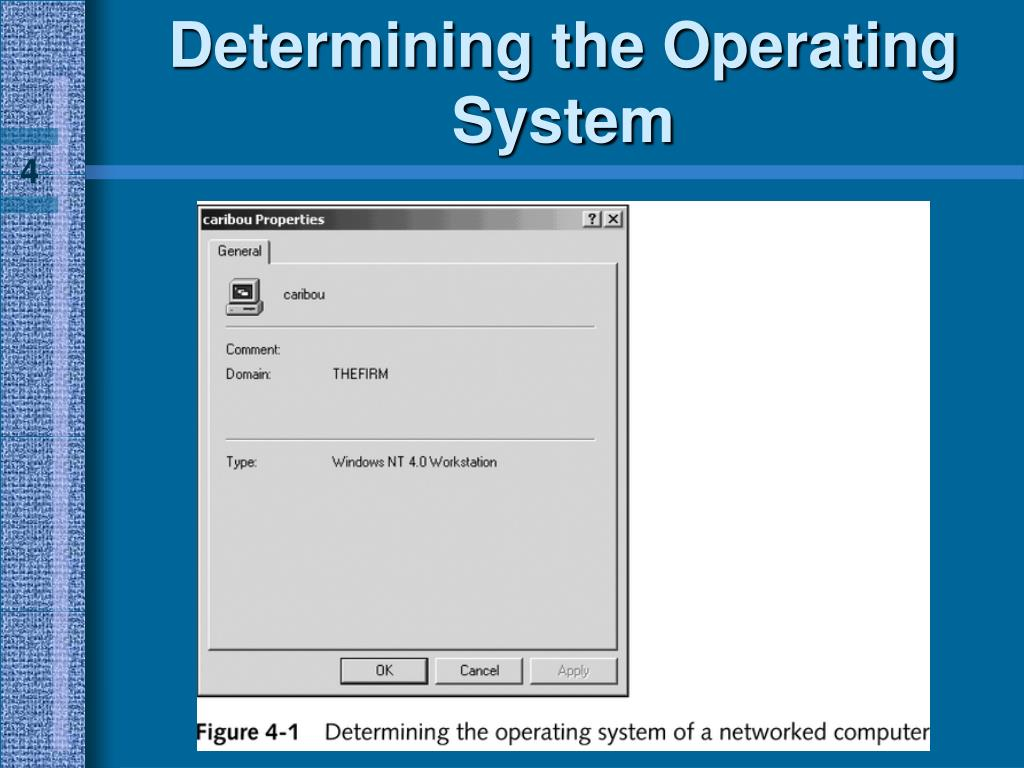 Determining the Operating System