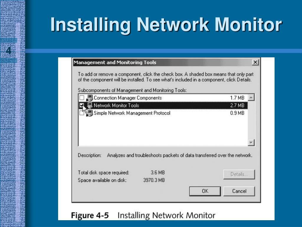 Installing Network Monitor