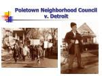 poletown neighborhood council v detroit46