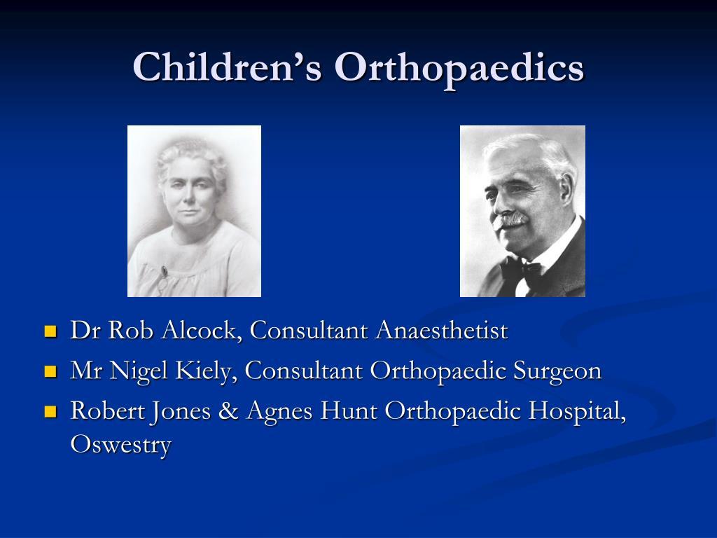 children s orthopaedics l.