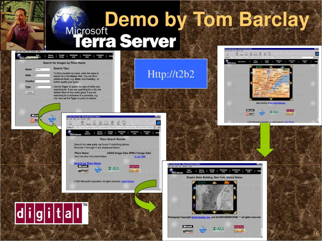 Demo by Tom Barclay