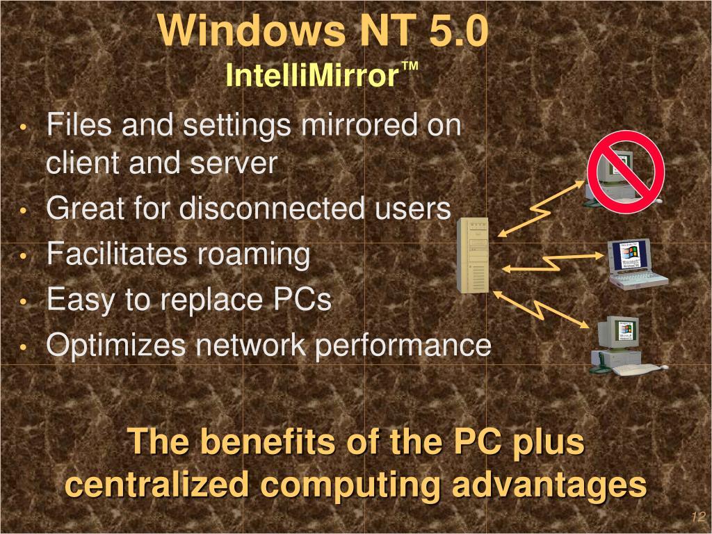 Windows NT 5.0