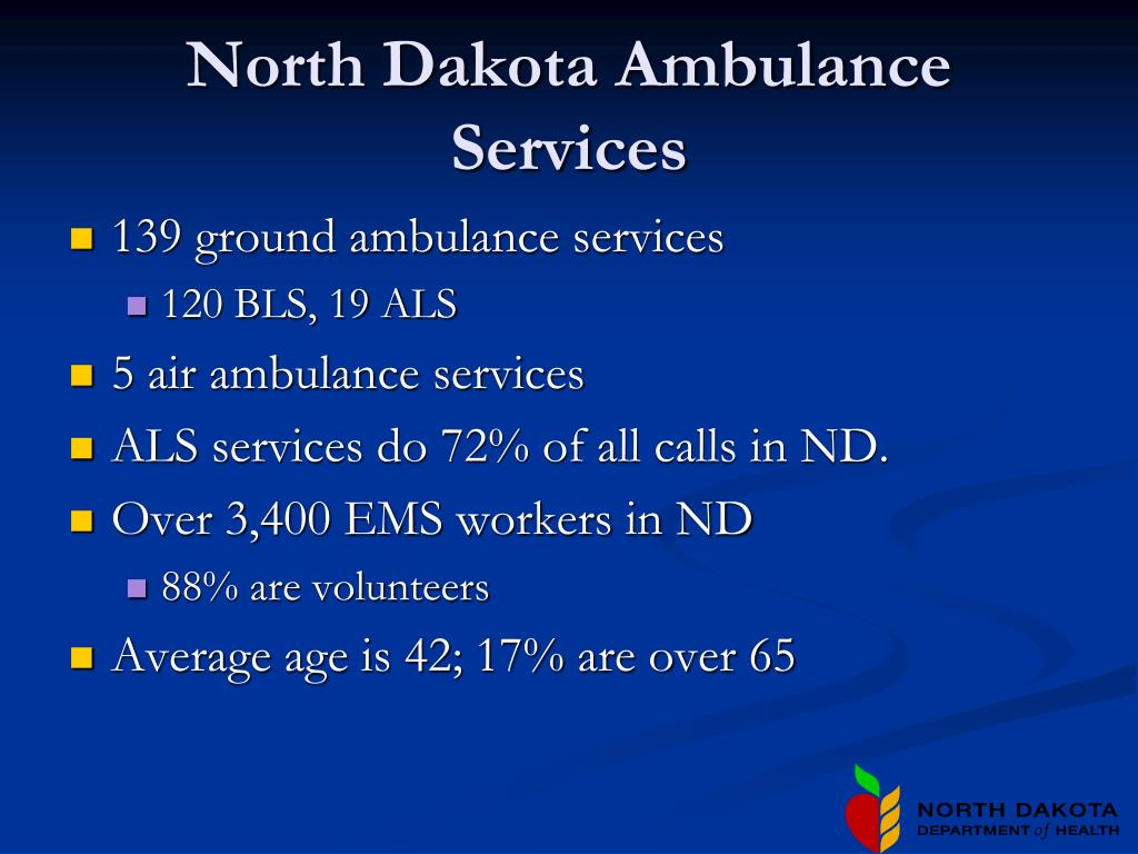 North Dakota Ambulance Services
