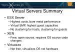virtual servers summary40