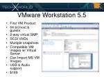 vmware workstation 5 5